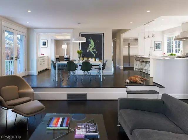 【凯夏分享】| 下沉式客厅,豪宅新定义图片